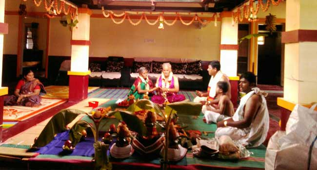 Ugraratha Shanti  / Sasti Aptha Poorthi (60th Marriage)