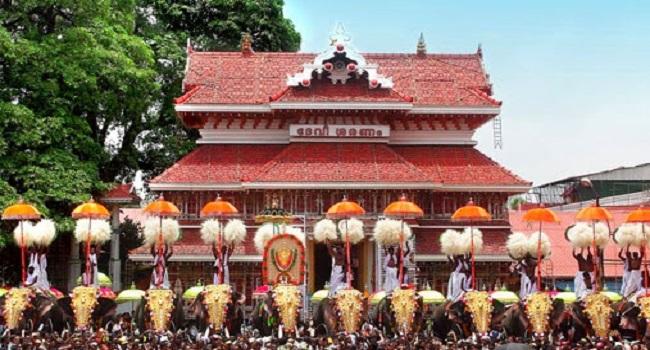 Paramekkavu Bagavathi Temple/പാറമേക്കാവ് ഭഗവതി...