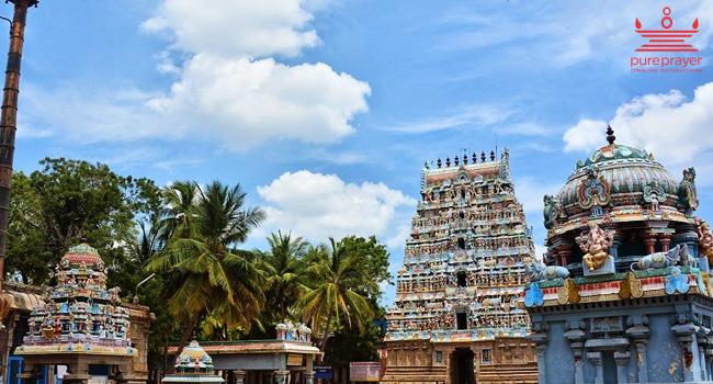 Thiru Nageswaran Shiva temple RaahuSthalam /...