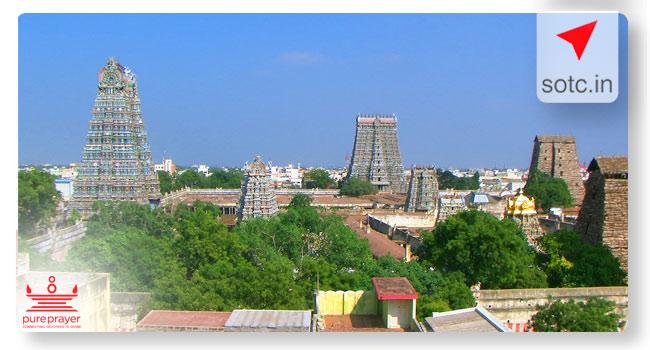 Madurai - Rameshwaram Darshan with Kanyakumari