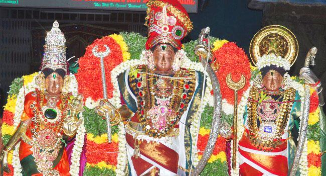 Nava Kalasha Thirumanjanam / Urchavar Moolavar 9 kalasa Thirumanjanam