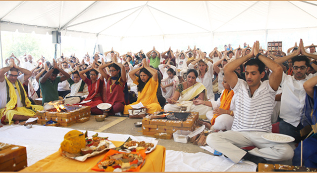 Amma Visits Houston for the 22nd Year