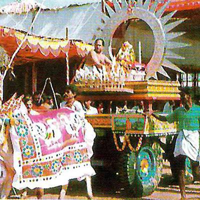 Sri Rajarajeshwari Temple – RR Nagar