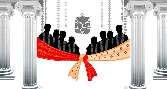 Mass marriage...