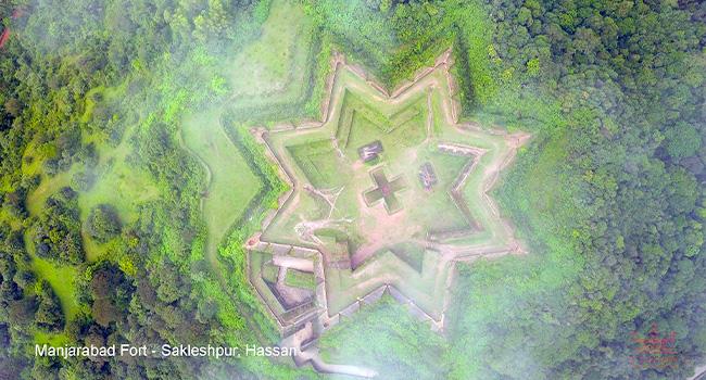 Manjirabad fort/ಮಂಜರಾಬಾದ್ ಕೋಟೆ: