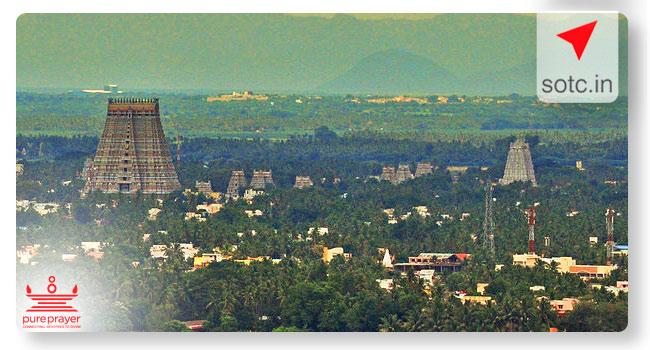 Thiruchirapalli with Madurai Darshan